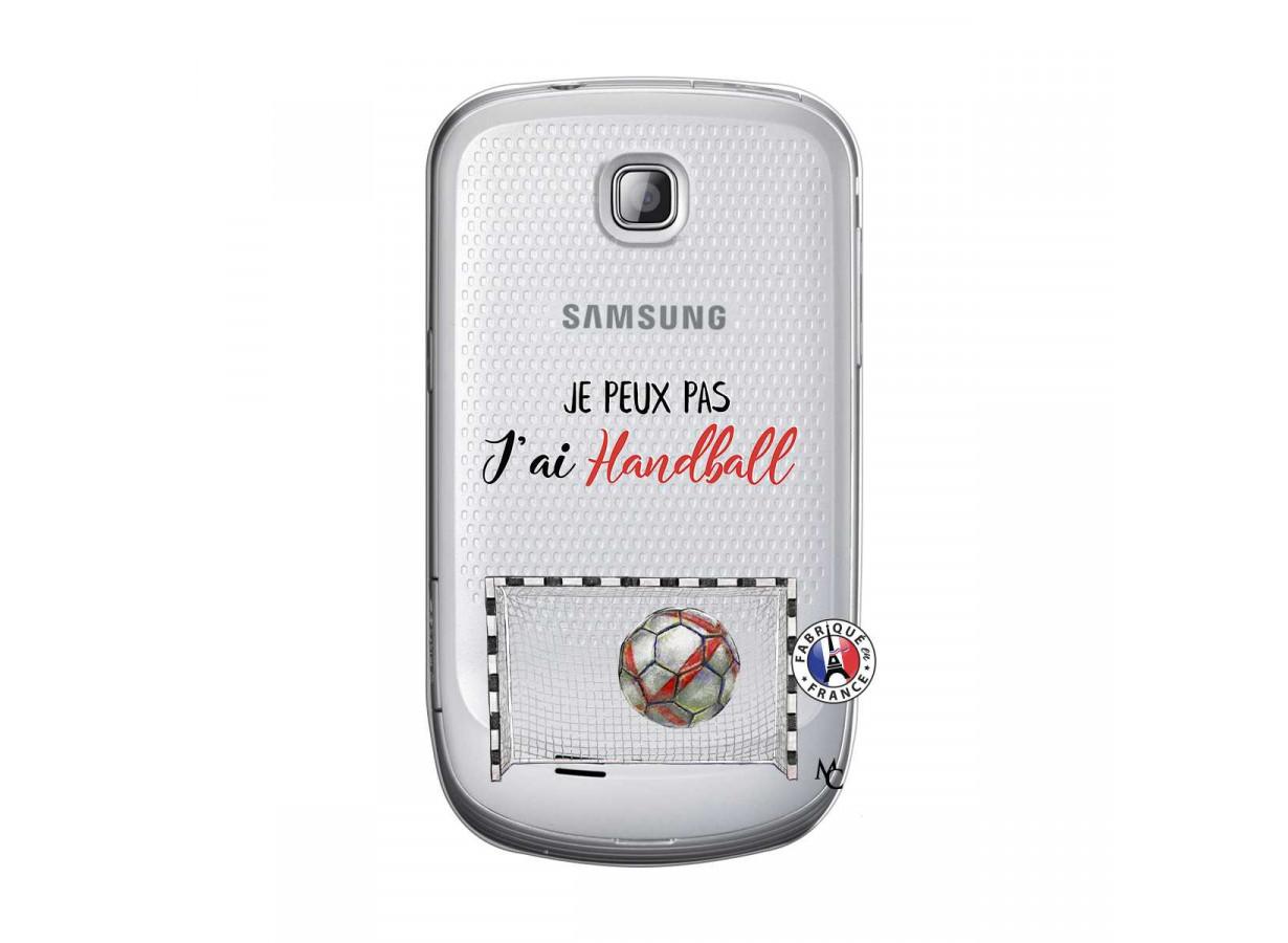 Coque Samsung Galaxy S Mini Je peux pas j'ai Handball | Master Case