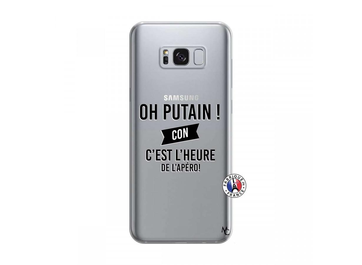 Coque Samsung Galaxy S8 Oh Putain C Est L Heure De L Apero ...