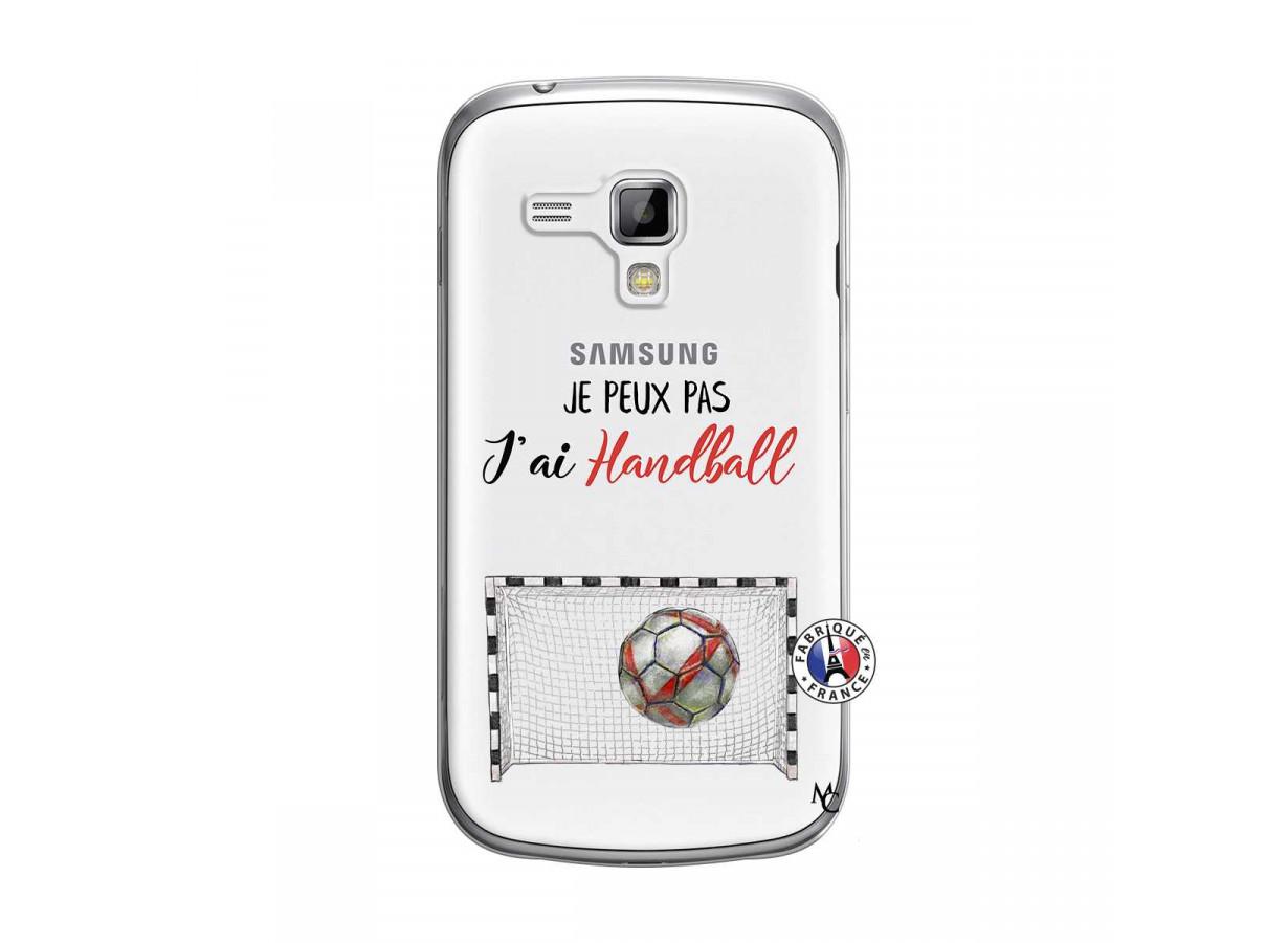 Coque Samsung Galaxy Trend Je peux pas j'ai Handball | Master Case