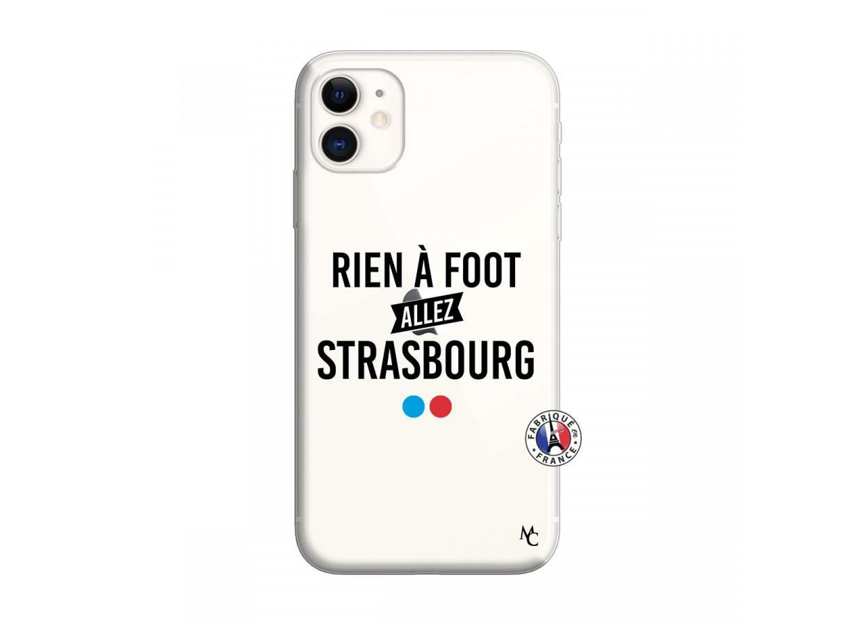 Coque iPhone 11 Rien A Foot Allez Strasbourg   Master Case