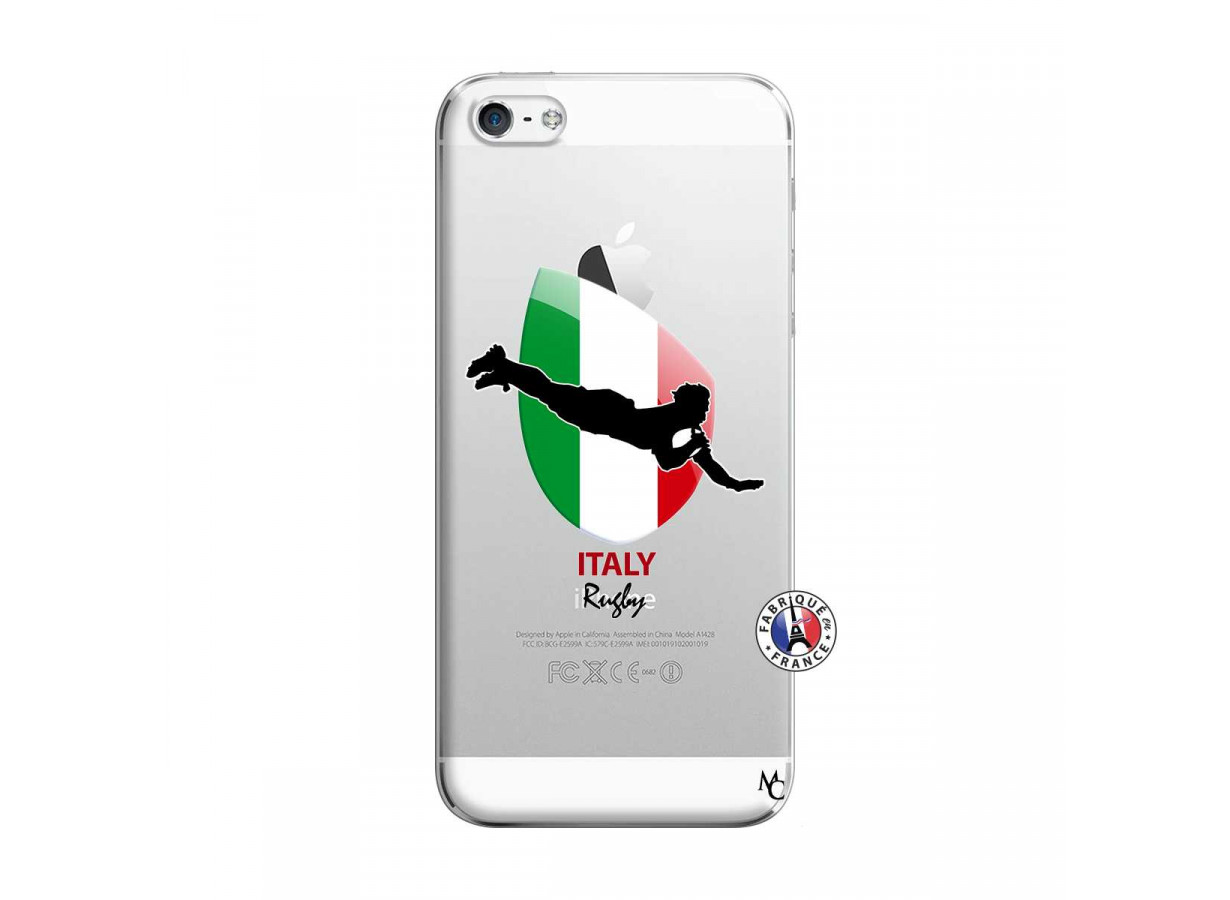 zz coque iphone 5 5s se coupe du monde rugby italy