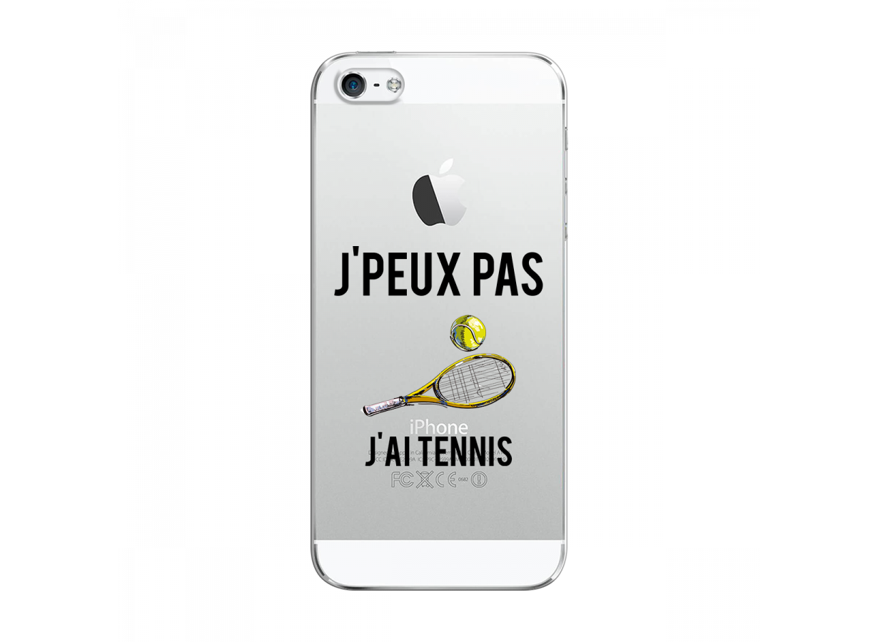 coque iphone 5 tennis