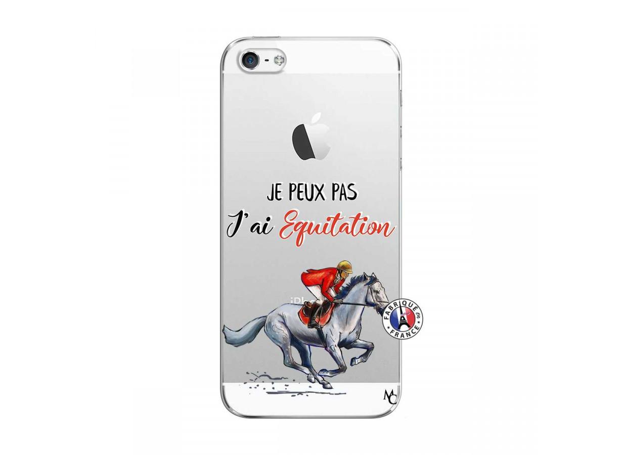 zz coque iphone 5 5s se je peux pas j ai equitation