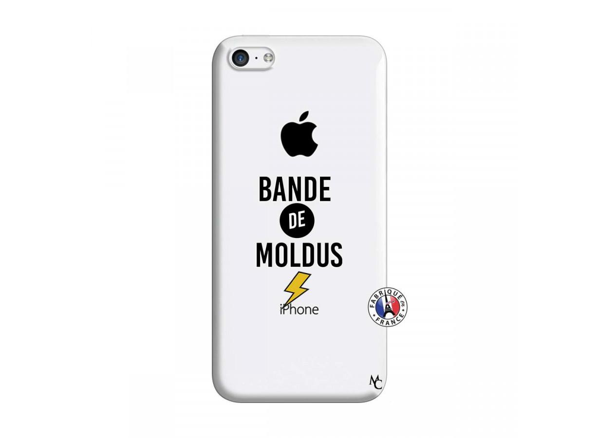 zz coque iphone 5c bandes de moldus