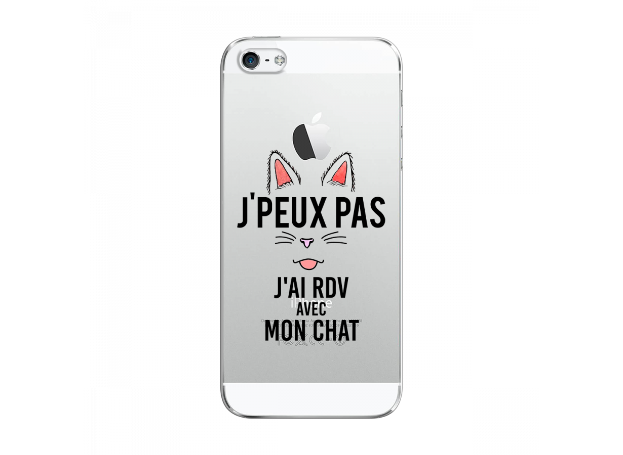 iphone 5 coque chat