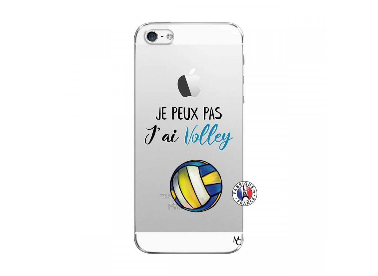 Coque iPhone 5C Je Peux Pas J Ai Volley | Master Case