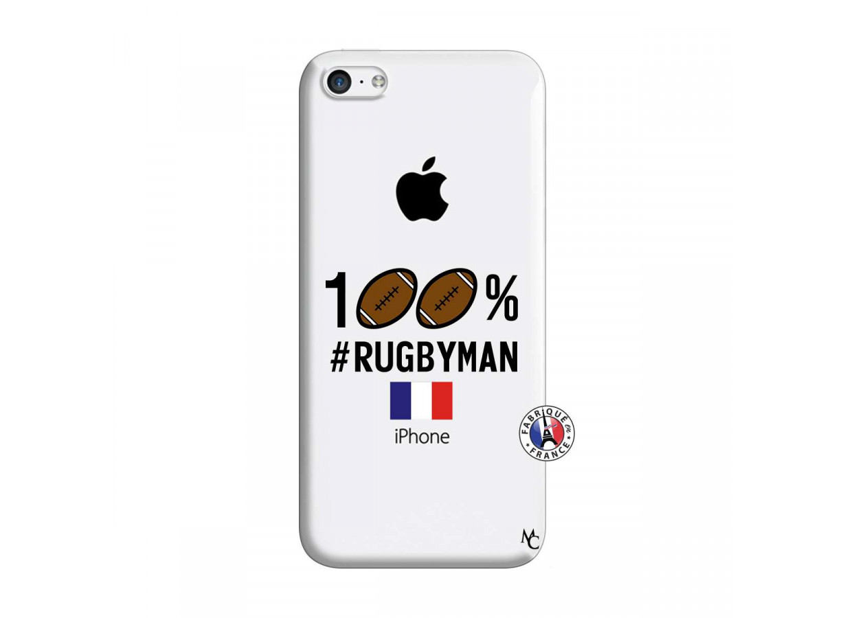 zz coque iphone 5c rugbyman
