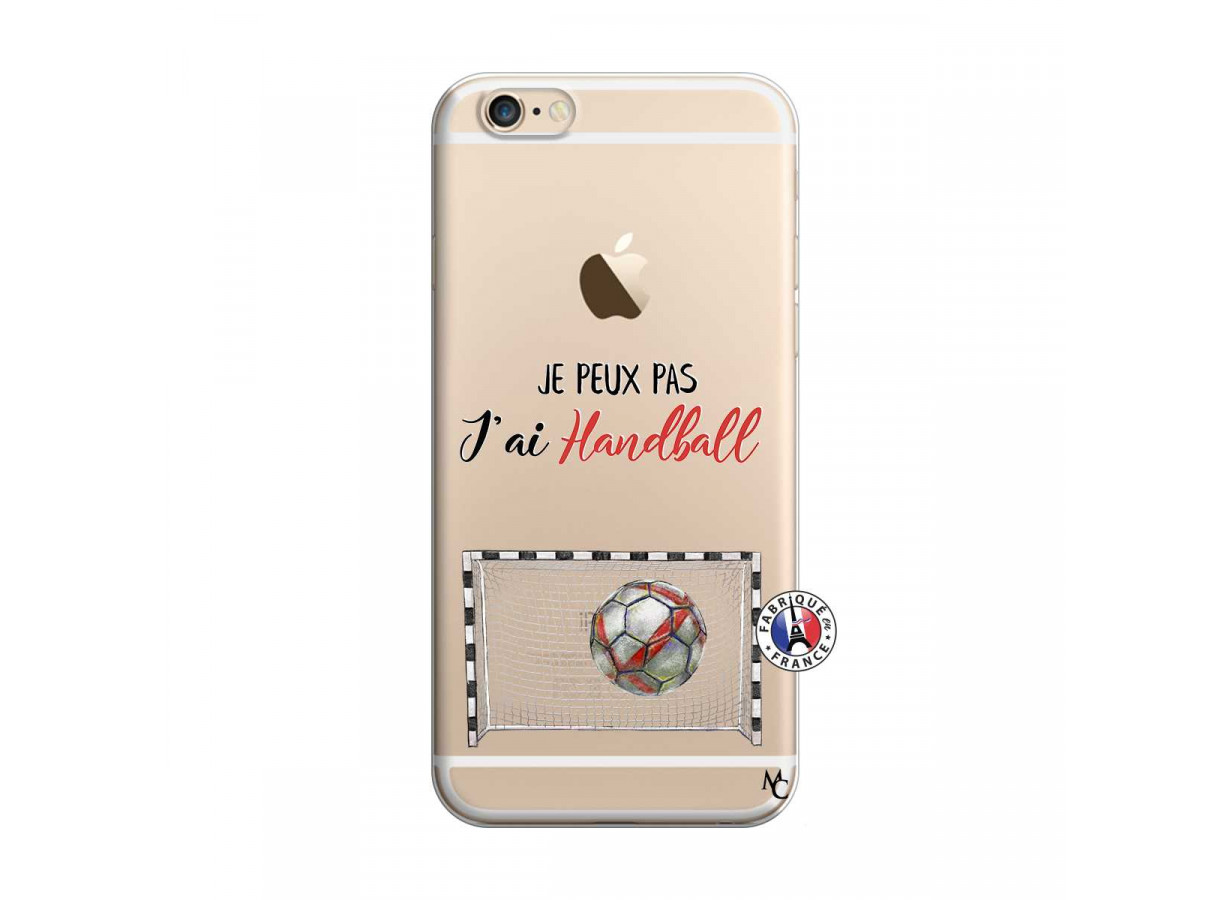 Coque iPhone 6/6S Je peux pas j'ai Handball | Master Case
