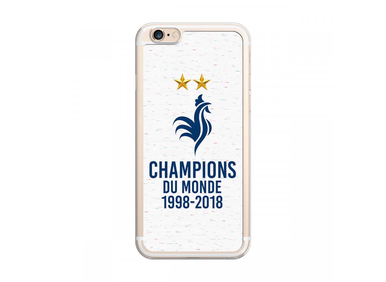 Coque iPhone 6/6S Champions du Monde | Master Case