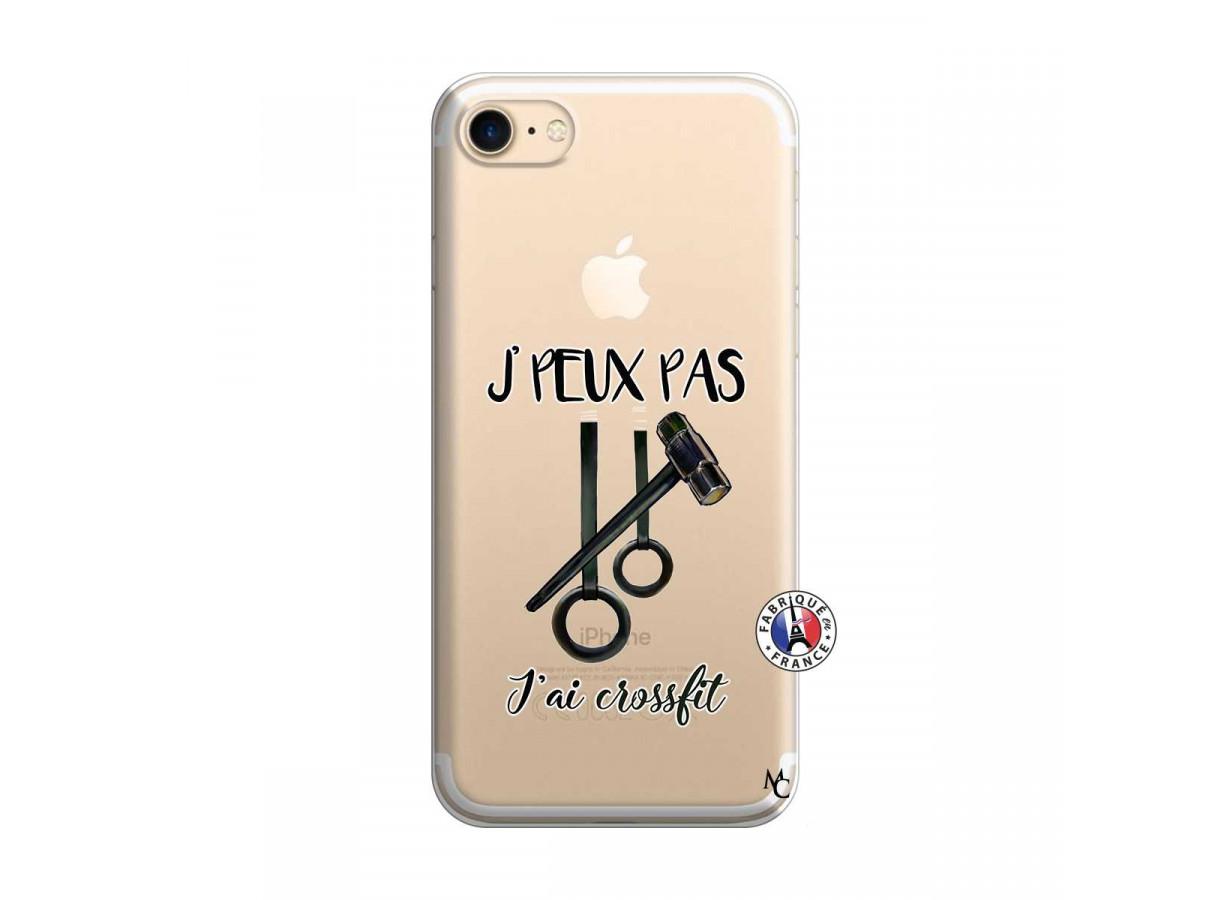 Coque iPhone 7/8 Je peux pas j'ai crossfit | Master Case