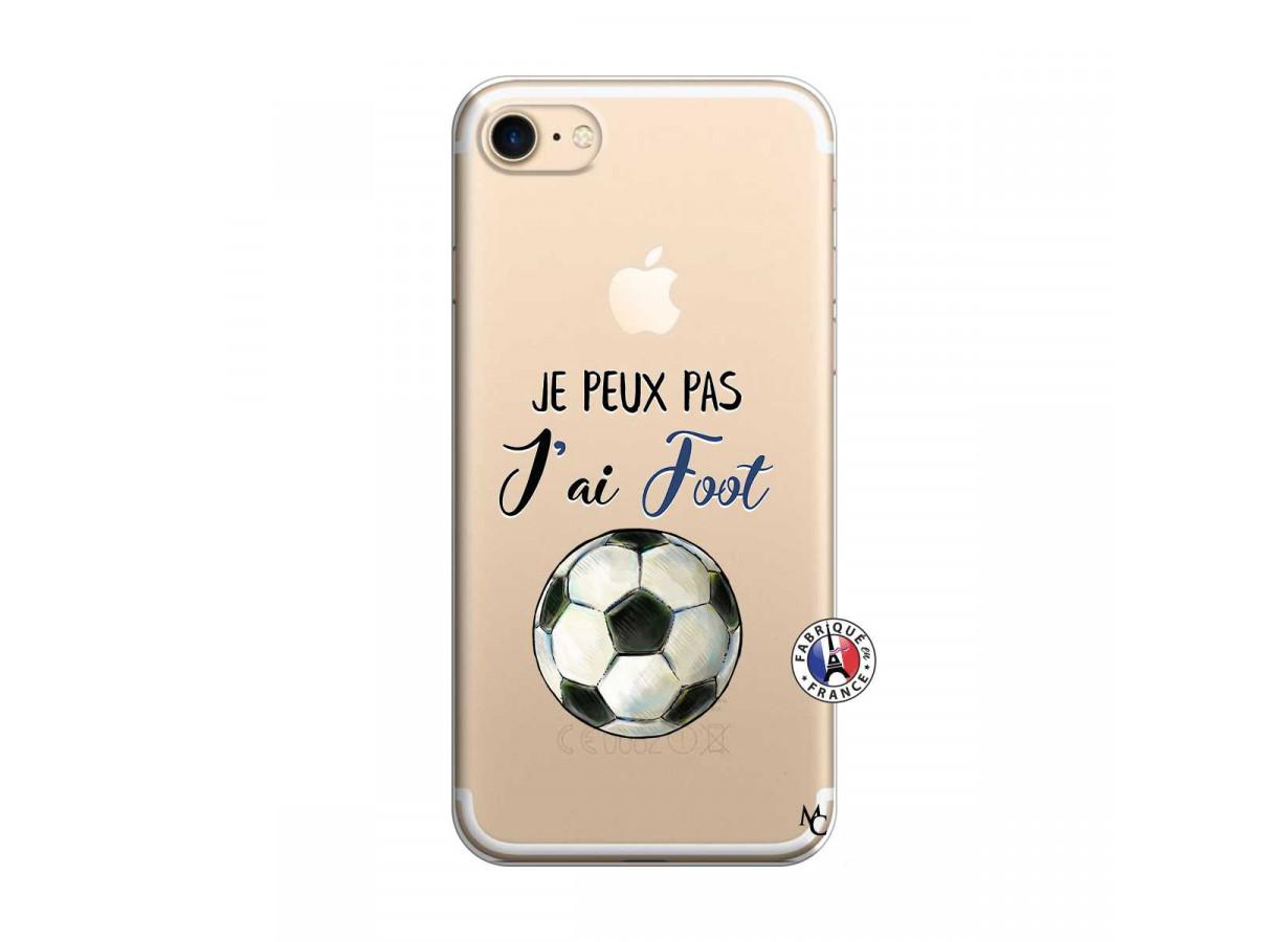 zz coque iphone 7 8 je peux pas j ai foot