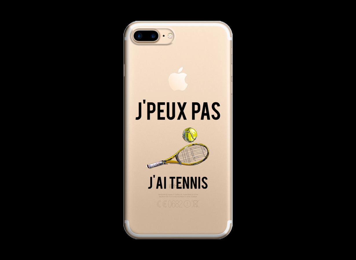 coque iphone 7 plus tennis