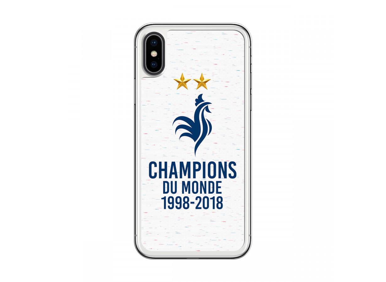 coque iphone x champion du monde