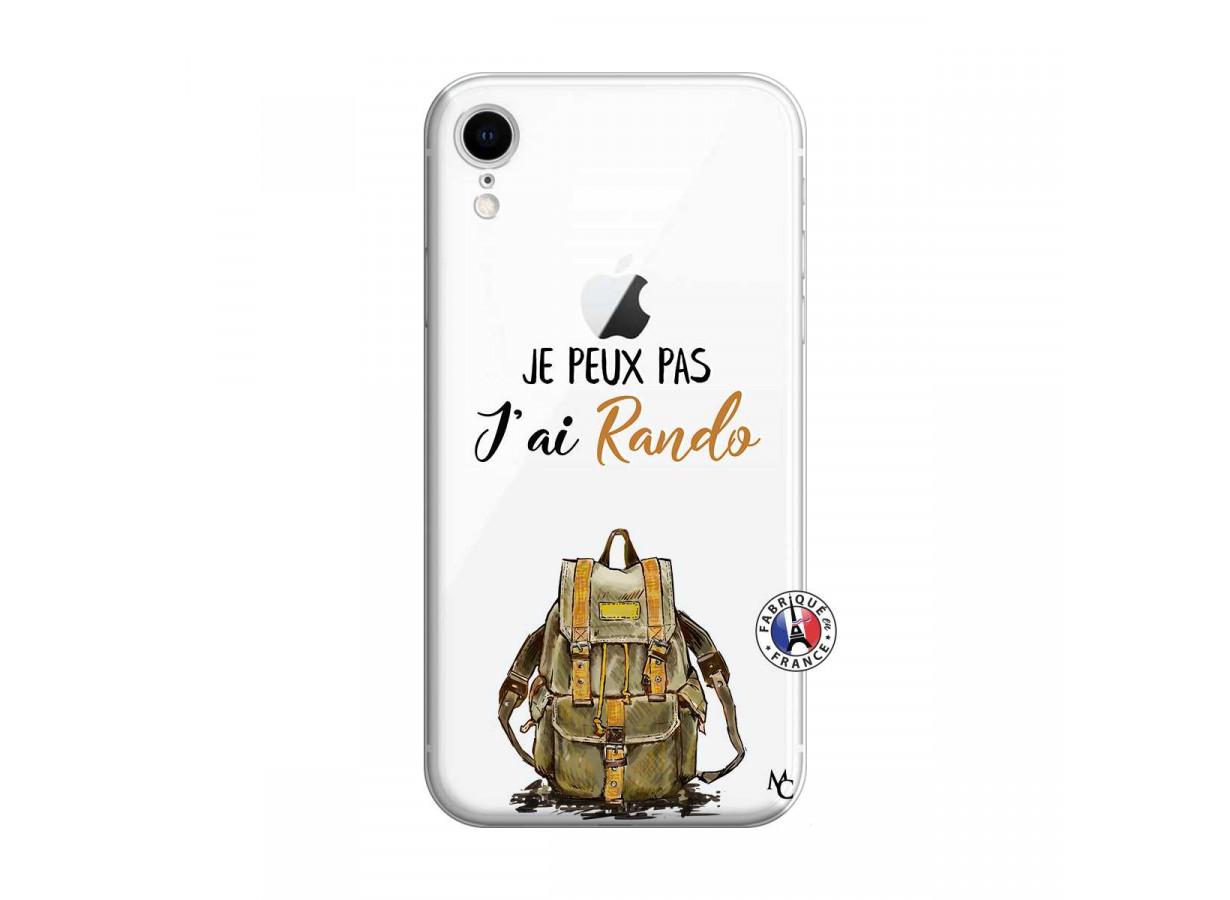 Coque iPhone XR Je Peux Pas J Ai Rando   Master Case