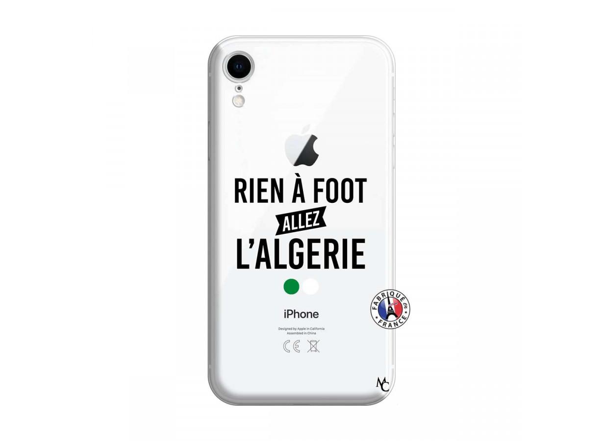 coque iphone xr transparente foot