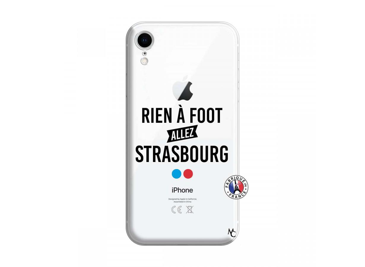 Coque iPhone XR Rien A Foot Allez Strasbourg   Master Case
