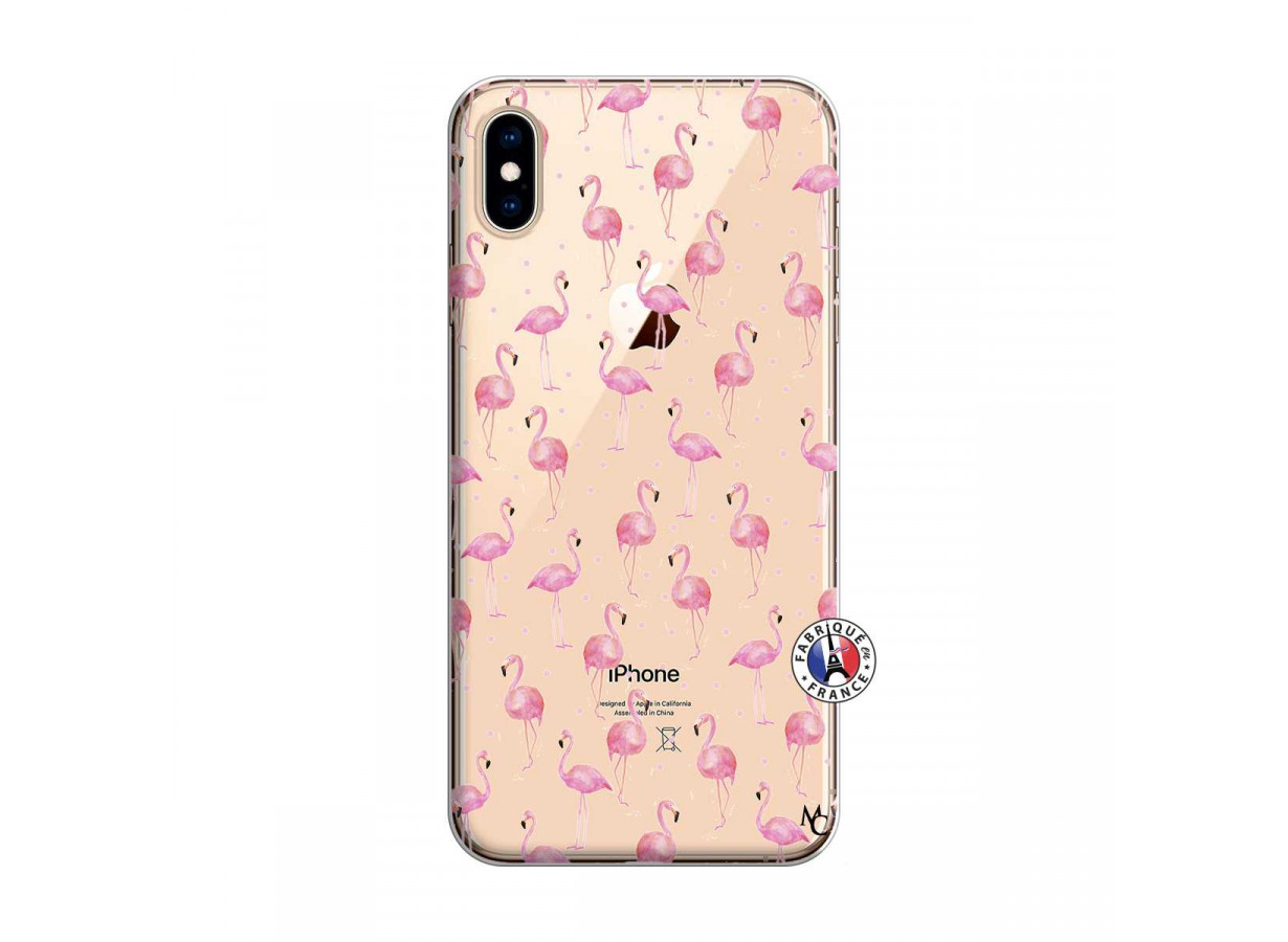 iphone xs max coque flamant