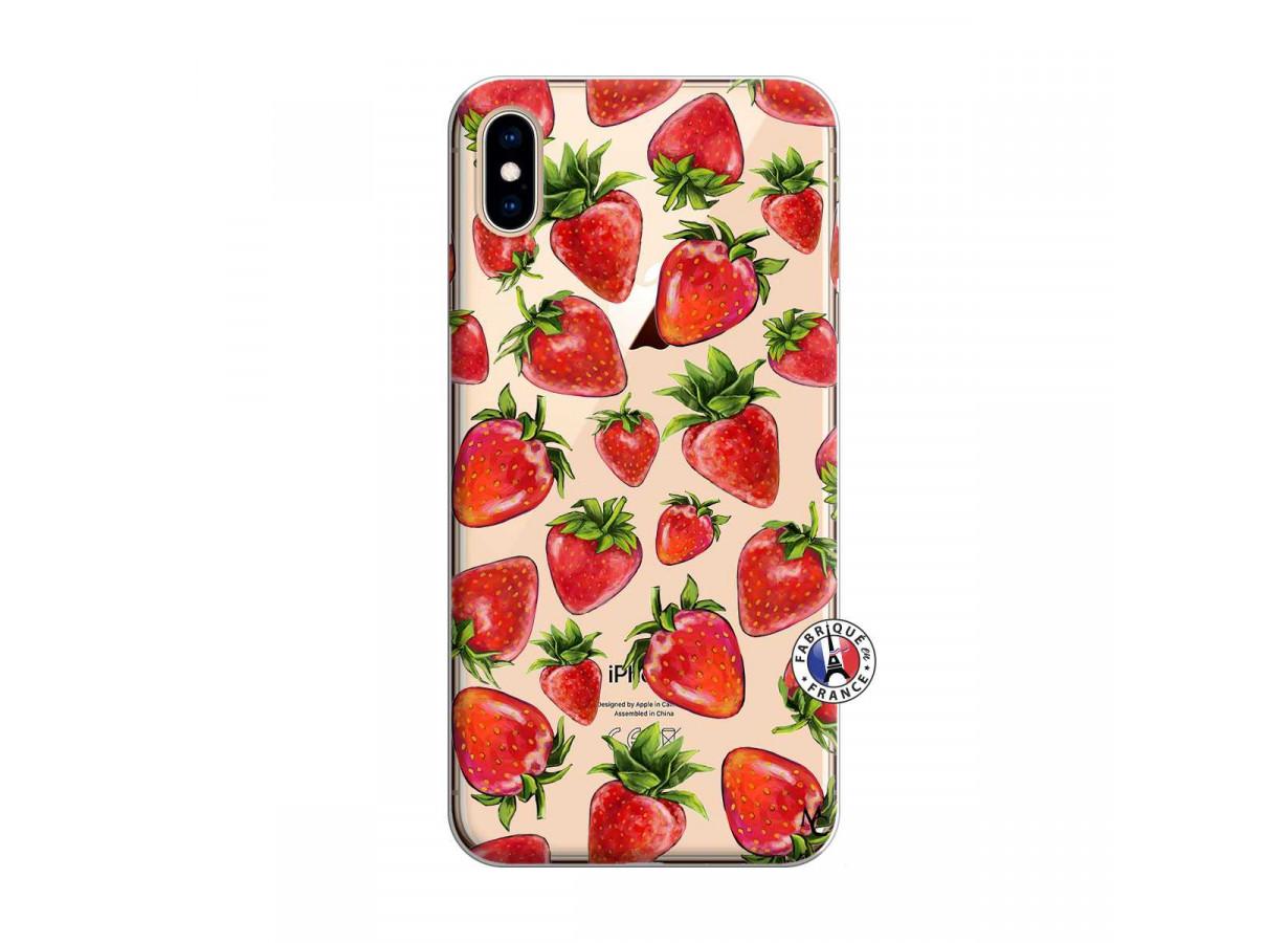 coque iphone xs max fruit
