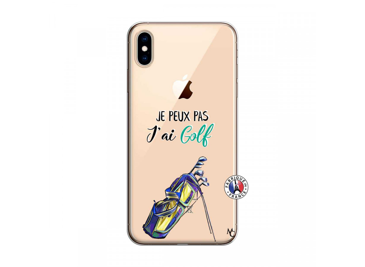 coque iphone xs golf
