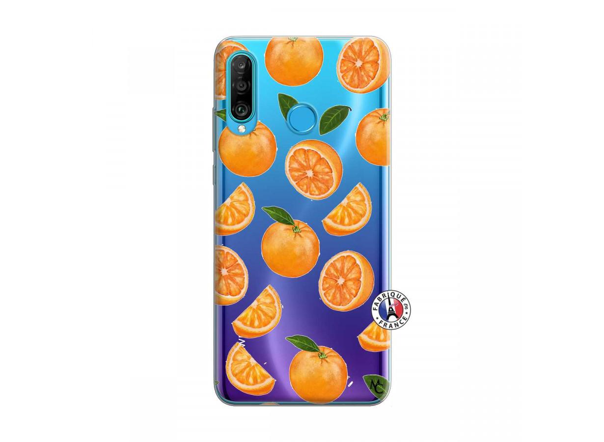 coque huawei p30 lite orange