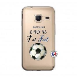 Coque Samsung Galaxy J1 Mini Je peux pas j'ai Foot | Master Case