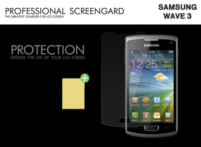 Film Protecteur Samsung Wave 3 (S8600)