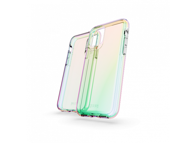 Coque iPhone 11 GEAR4 D30 Crystal Palace IRIDESCENT (anti-choc)