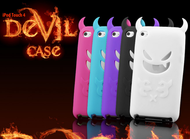 Coque iPod Touch 4 Devil's Case