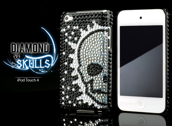 Coque iPod Touch 4 Diamond Skull