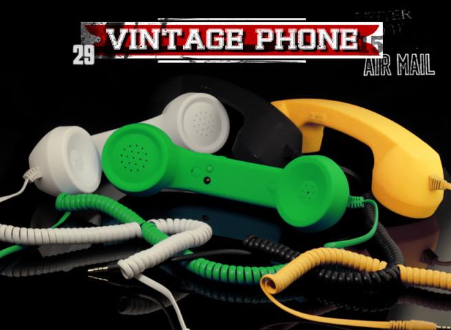 Combiné Vintage Phone