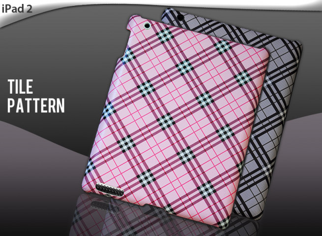 "Coque iPad 2 ""Tile Pattern"""