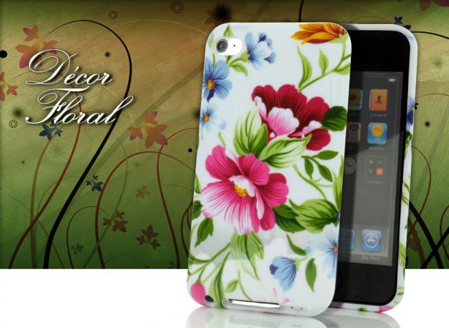 Coque iPod Touch 4 Décor Floral