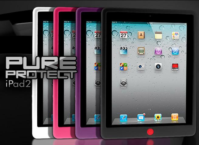 Coque iPad 2 silicone