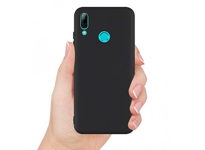 Coque Honor 10 Lite Black Matte Flex
