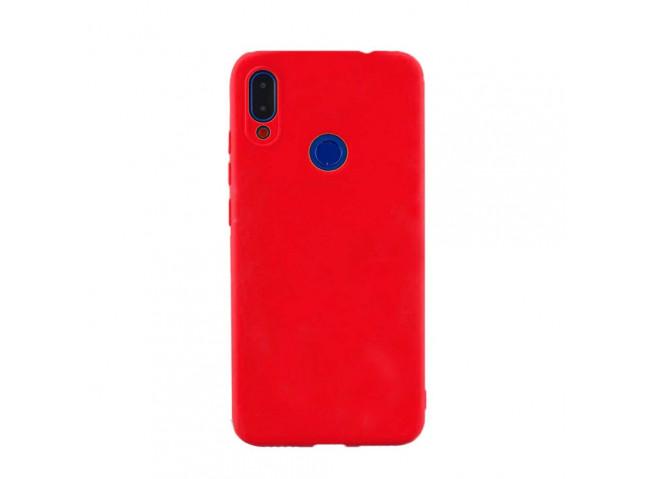 Coque Samsung Galaxy A40 Red Matte Flex
