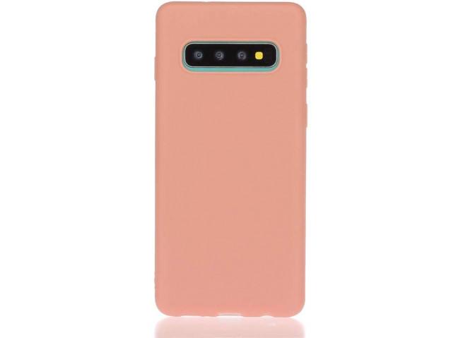 Coque Samsung Galaxy S10 Coral Matte Flex