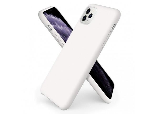 Coque iPhone 11 White Matte Flex