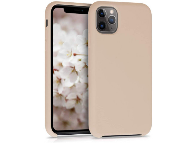 Coque iPhone 11 Silicone Gel-Rose Sable