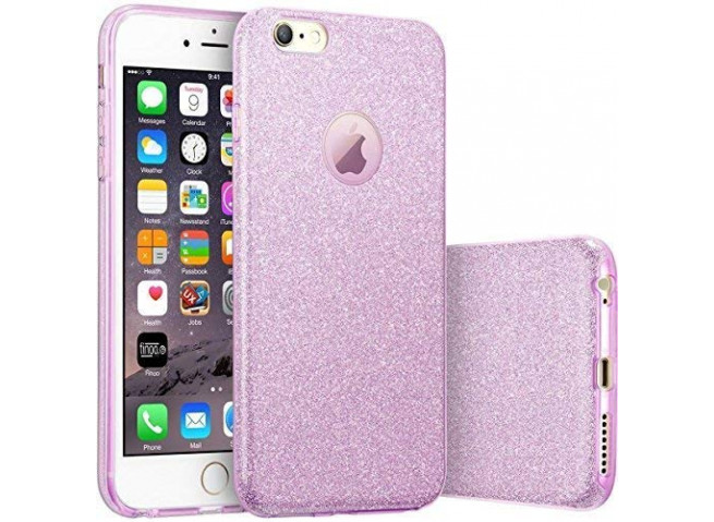 Coque iPhone 6/6S Glitter Protect-Violet