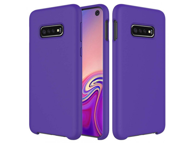 Coque Samsung Galaxy S10 Purple Matte Flex