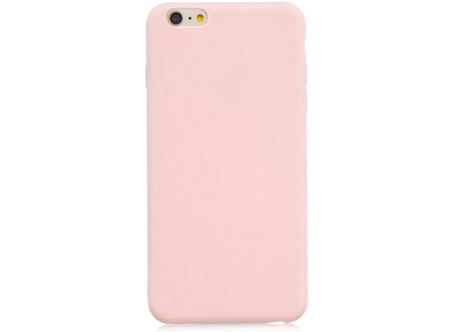 Coque iPhone 7 Plus / iPhone 8 Plus Light Pink Matte Flex