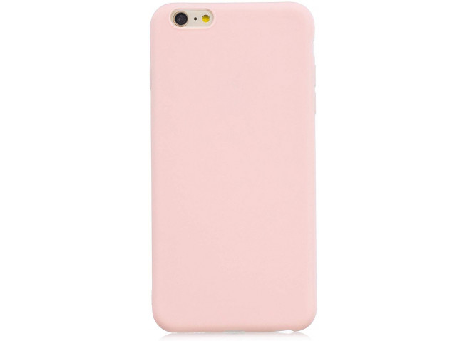 Coque iPhone 5/5S/SE Light Pink Matte Flex