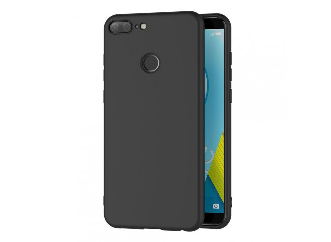 Coque Honor 9 Lite Black Matte Flex