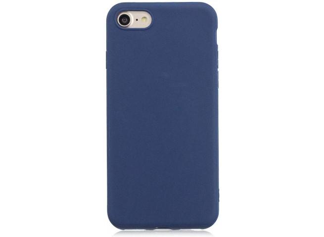 Coque iPhone 7 Plus / iPhone 8 Plus Blue Navy Matte Flex