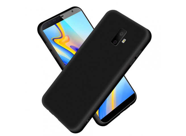 Coque Samsung Galaxy J6 Plus Black Matte Flex