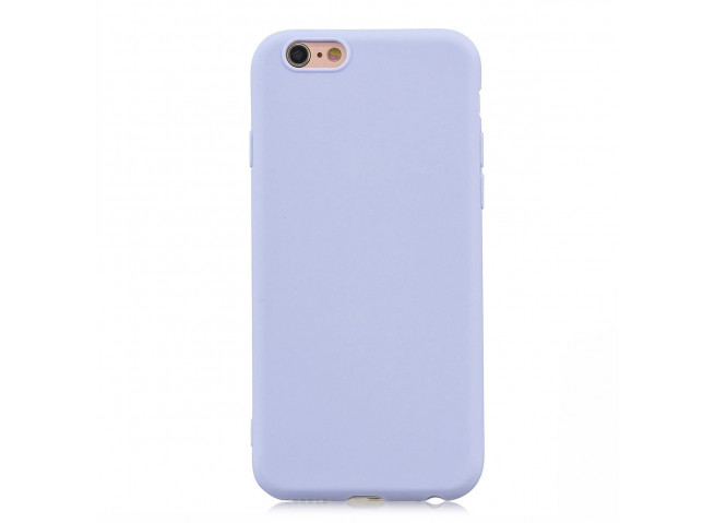 Coque iPhone 6/6S Lila Matte Flex