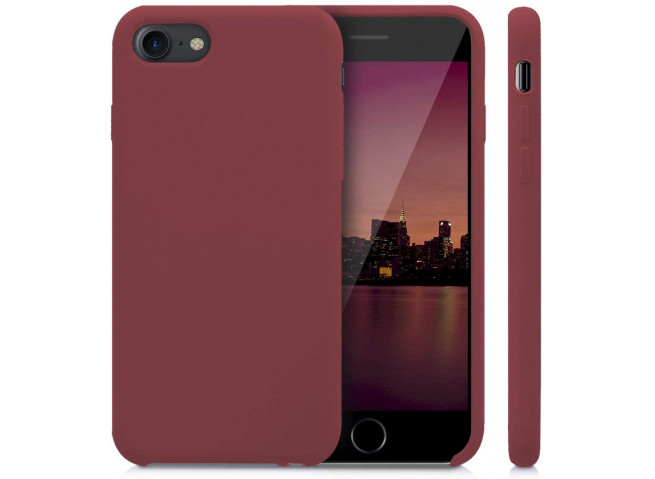Coque iPhone 5/5S/SE Burgondy Matte Flex
