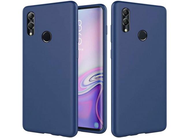 Coque Huawei P Smart 2019 Blue Navy Matte Flex