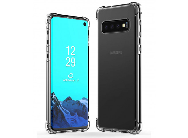 Coque Samsung Galaxy S10 Plus Clear Shock