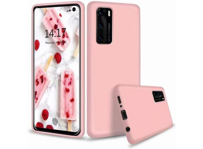 Coque Huawei P40 Light Pink Matte Flex